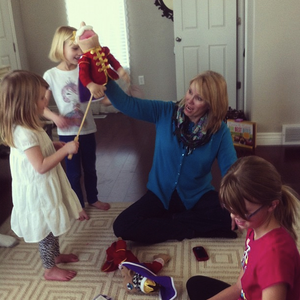 The Truth About Blondes Blog // The Positive Memory Project: A Mother's Lesson On Fun